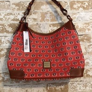Dooney & Bourke Cincinnati Bengals Hobo Bag New